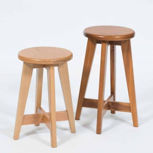 Contemporary Timber Stools custom made by Buywood Furniture in Alderley, Brisbane