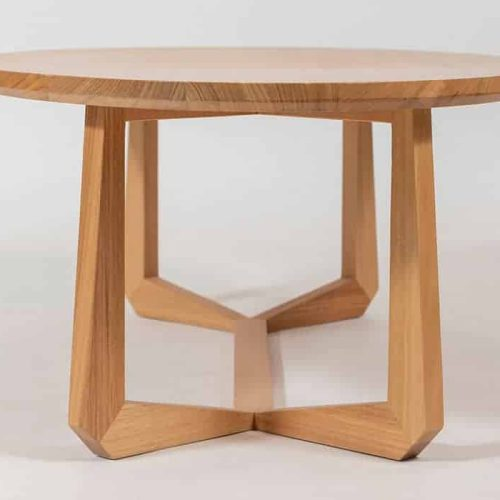 Yango Coffee Timber Table custom made and designed by Buywood Furniture joinery at Buywood Furniture Brisbane