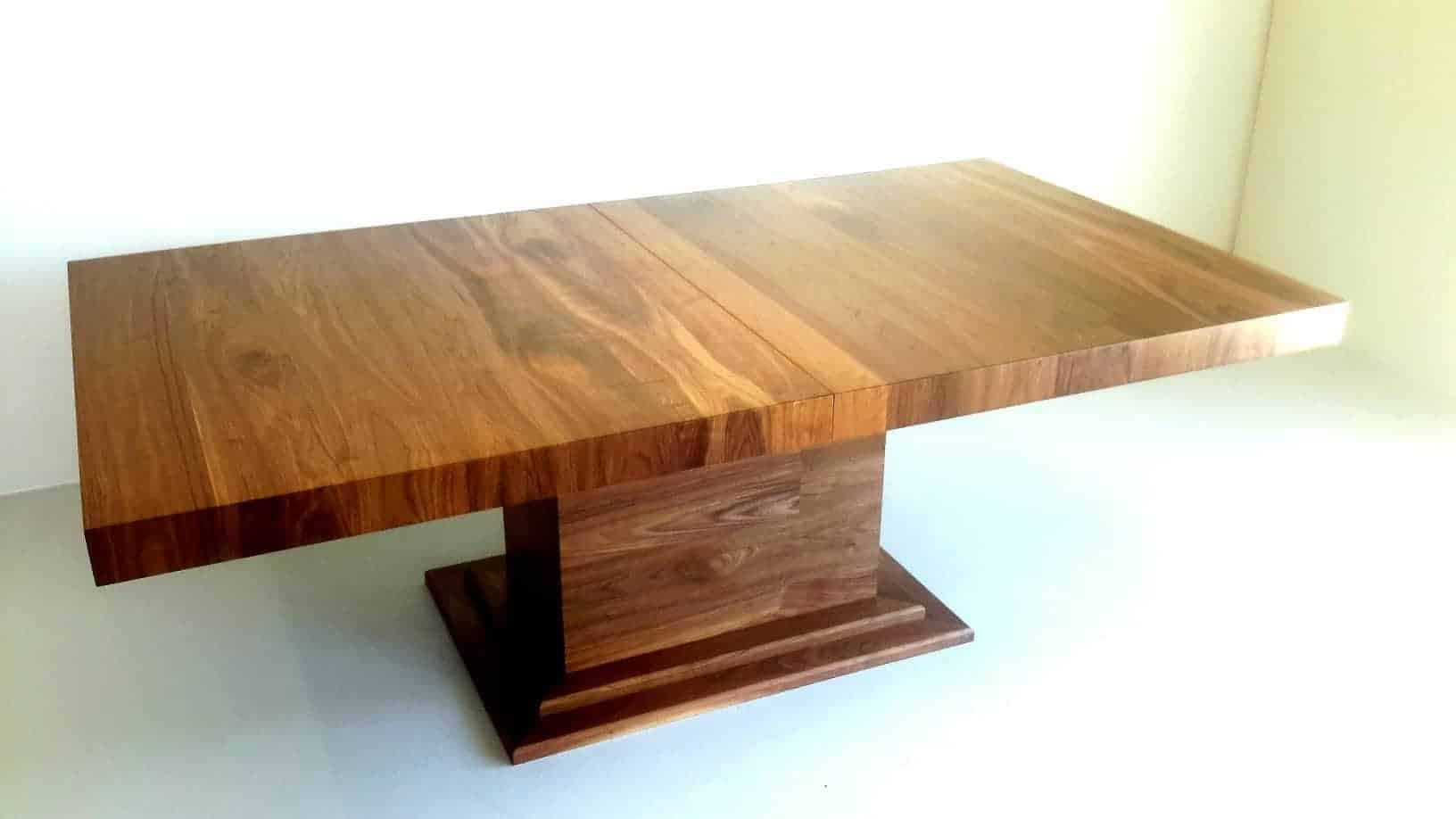 Abington Table custom made timber table, Buywood Furniture, Alderley, Brisbane