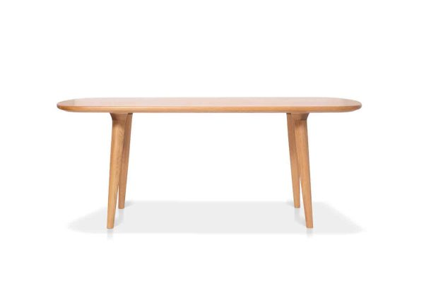 Aria Dining Table in solid wood custom made by joinery Buywood Furniture, Brisbane