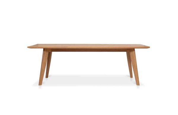 Blade Timber Dining Table is custom made by Buywood Furniture, Brisbane