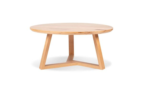 The Burke timber Dining Table is a variation on the classic circular table and a beautiful addition to any space. Custom made by Buywood Furniture, Brisbane