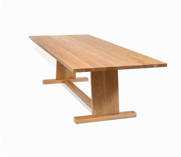 Corang Wooden Table custom made in solid wood by Brisbane Joinery, Buywood Furniture, Brisbane.