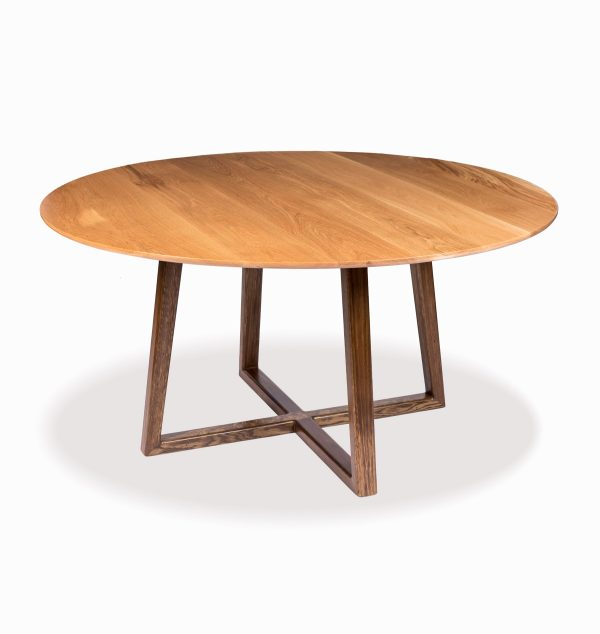 Darling Solid Timber Dining Table custom made by Buywood Furniture, joinery in Brisbane