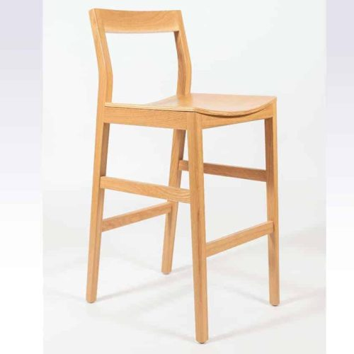 Hasting Bar Stool solid timber furniture custom made by joinery Buywood Furniture Brisbane