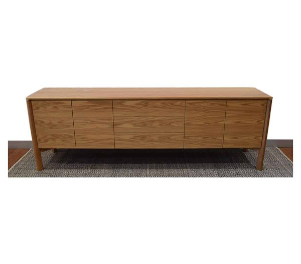 Jensen Sideboard solid wood furniture custom made and designed by joinery Buywood Furniture, Brisbane.