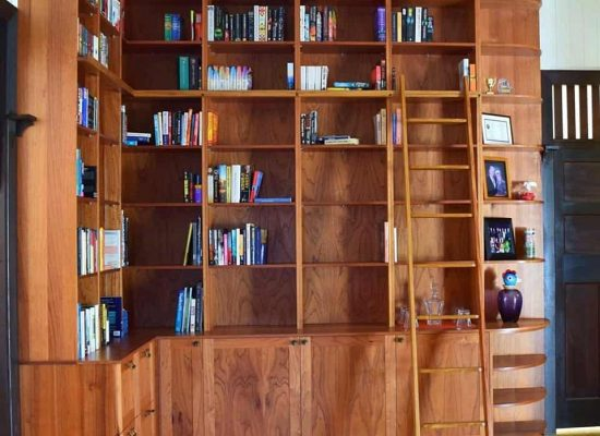 Bespoked Library - Buywood Furniture, Alderley