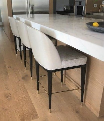 Anouk Bar Stool custom made by Buywood Furniture joinery in Alderley Brisbane.