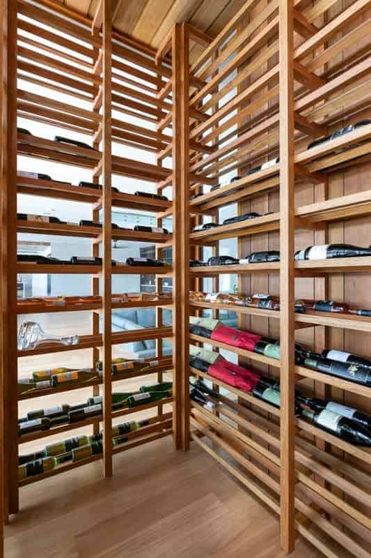 Wine Cellar custom made in Rosewood by Buywood Furniture, joinery in Brisbane